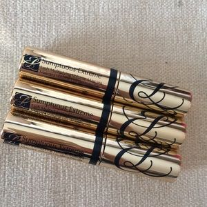 Three mini mascaras